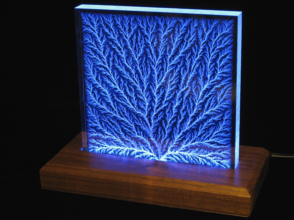 Stoneridge Engineering S Lichtenberg Figure Sculptures