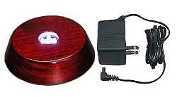 "4"" diameter LM2692 Rosewood Light Base"