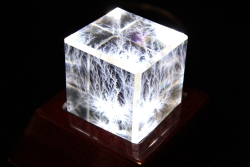 Style LF2A Cube on LM2699 Light Base